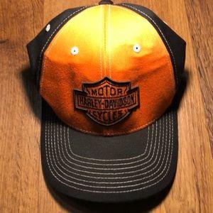 Harley Davidson Men's Hat Size L/XL Flex Fit